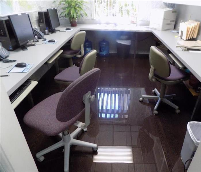 Water Damage in Upland, CA Office