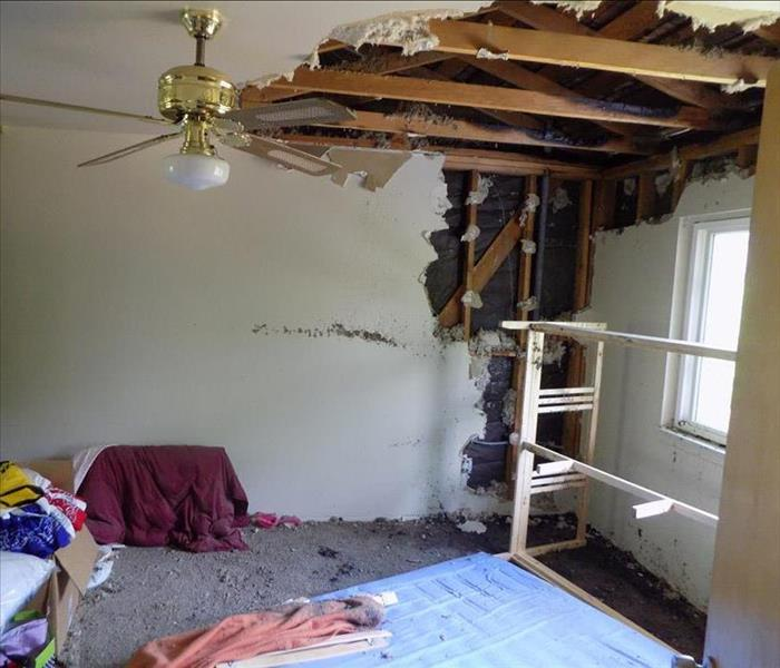 Water damage in San Bernadino, CA