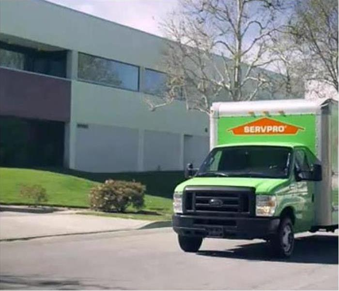 Commercial SERVPRO Commercial Cleaning Services At Your Service