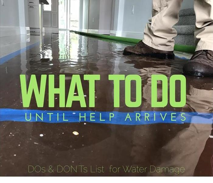 Water Damage Tips on things to do for homeowners during a water damage caused by clean water